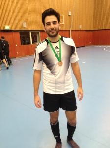 Der beste Spieler des Turniers: Ulusoy (8)